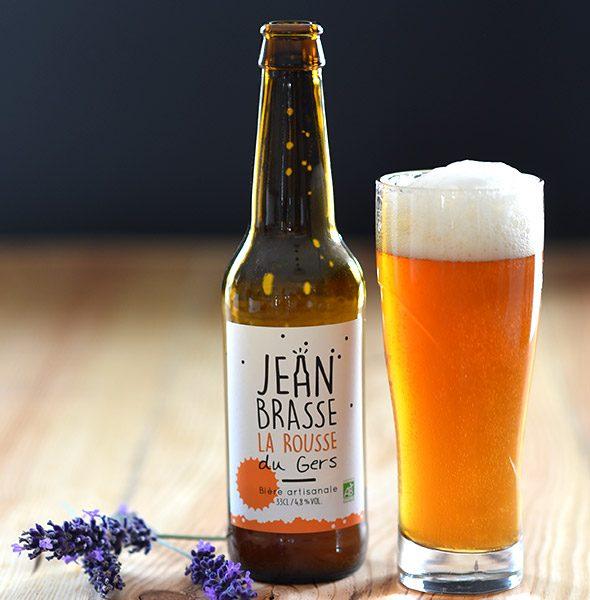 bière rousse artisanale bio gers