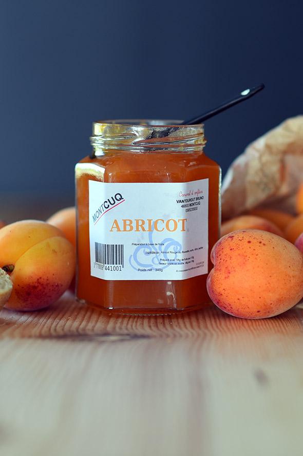 confiture d'abricot du lot