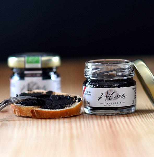 crême d'ail noir bio