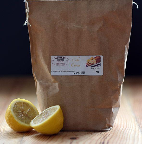 farine cake citron